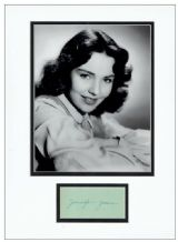 Jennifer Jones Autograph Signed